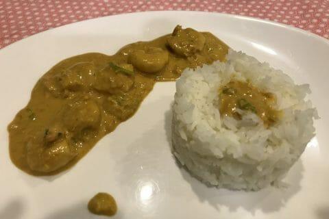 Curry de crevettes au lait de coco Thermomix par Cyn Sav