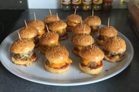 Mini burgers Thermomix par bouille