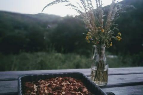Cookie-crumble rhubarbe framboises au Thermomix