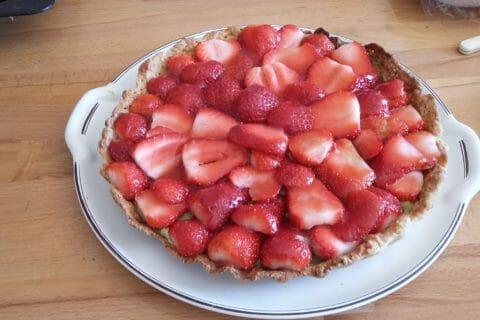 Tarte aux fraises Thermomix par Cathy