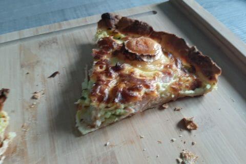 Tarte courgette, jambon & chèvre au Thermomix