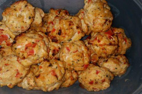 Boulettes de poulet Thaï Thermomix par Aulili