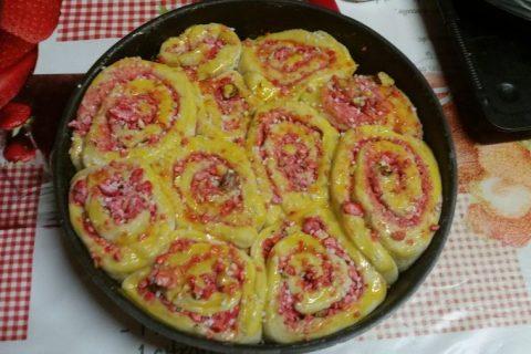 Brioche aux pralines roses Thermomix par Vodka