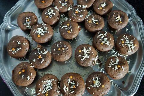 Muffins aux deux chocolats Thermomix par Cecile 2912