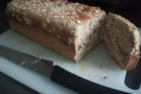 Pain aux flocons d'avoine et au miel Thermomix par Soso