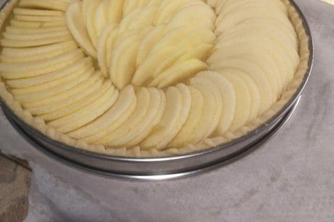 Tarte aux pommes alsacienne au Thermomix