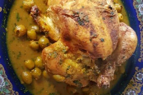 Tajine de poulet aux olives Thermomix par Allisson76120