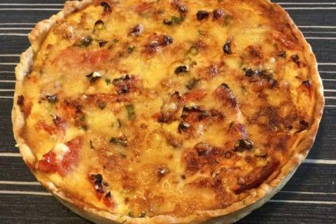 Tarte au thon, tomate et moutarde Thermomix par Marine98800