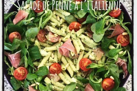 Salade de penne à l'italienne Thermomix par elise1113