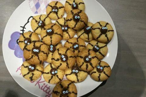 Spider cookies (cookies araignées) Thermomix par Tililouchou