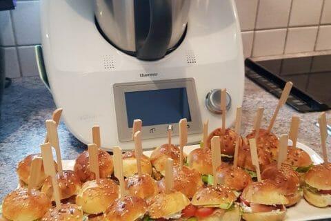 Mini burgers Thermomix par Jakie35