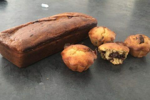 Cake banane et pépites de chocolat Thermomix par C💞LPM💞