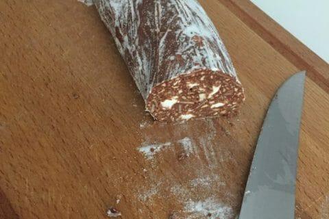 Saucisson au chocolat Thermomix par Klaire
