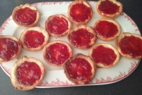 Mini tartelettes aux fraises Thermomix par Moon 12