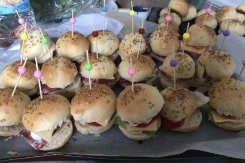 Mini burgers Thermomix par Ga34