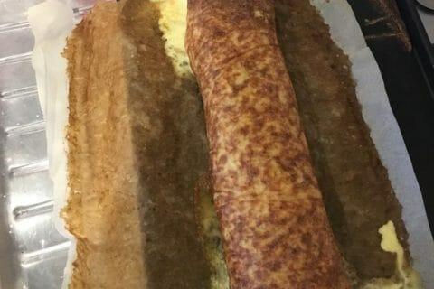 Roulé de pommes de terre, jambon et reblochon Thermomix par gwada_ted