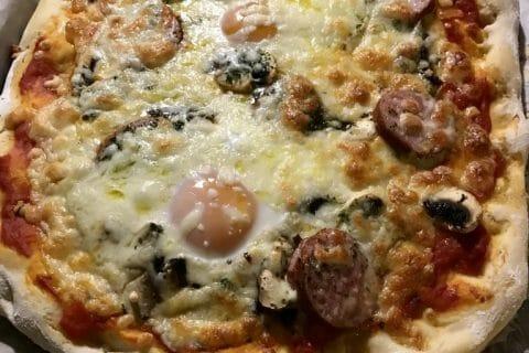 Pâte à pizza Thermomix par loxley