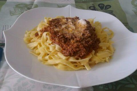 Spaghettis bolognaise au Thermomix
