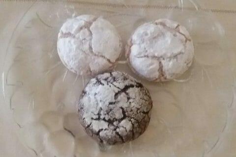 Craquelés aux biscuits roses de Reims Thermomix par Adenium13