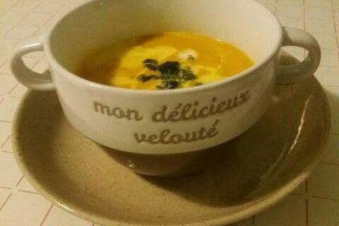 Velouté de carottes au curry Thermomix par Adenium13