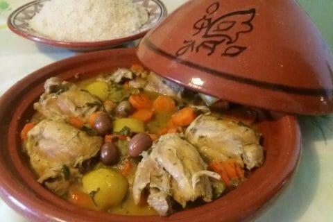Tajine de poulet aux olives Thermomix par Adenium13