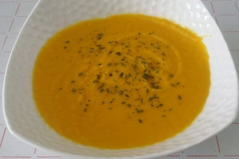 Velouté céleri, carottes et coco Thermomix par Adenium13