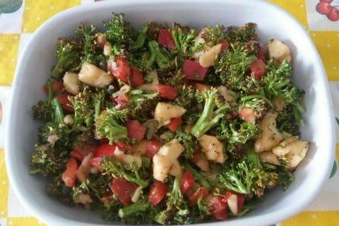 Salade de brocolis Thermomix par Adenium13