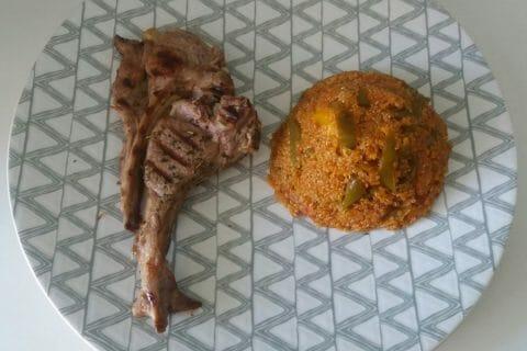 Quinoa sauce basquaise Thermomix par Adenium13
