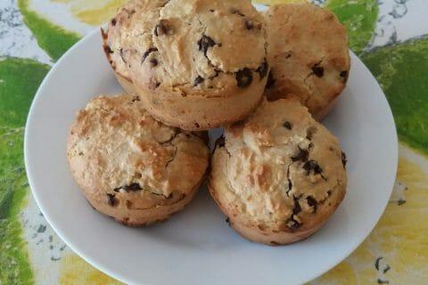 Muffins au son d'avoine et aux pépites de chocolat Thermomix par Adenium13
