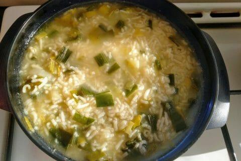 Soupe de poireaux à la ciboulette au Thermomix
