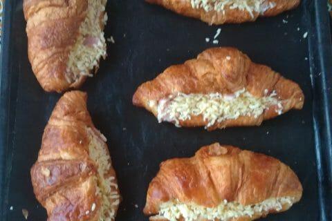 Croissants au jambon au Thermomix