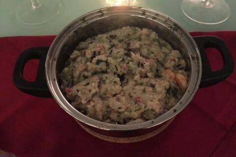 Risotto courgettes et crevettes au Thermomix
