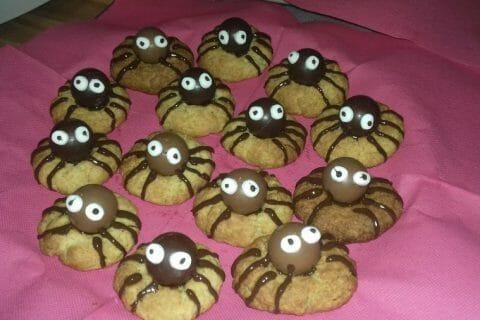Spider cookies (cookies araignées) Thermomix par brunette62