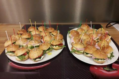 Mini burgers Thermomix par La Luciole