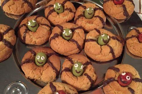 Spider cookies (cookies araignées) Thermomix par Elcarlouky