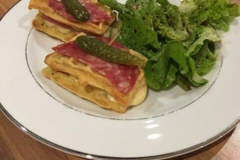 Gaufres raclette Thermomix par Below