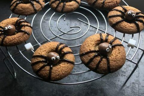 Spider cookies (cookies araignées) Thermomix par Emilie77000