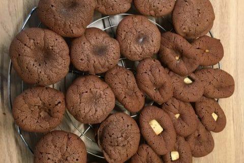 Muffins aux deux chocolats Thermomix par Cocuistoulie