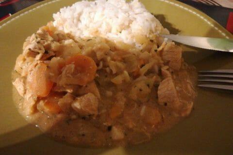 Poulet Thaï au curry Thermomix par chrislcmb