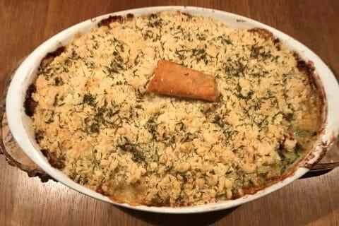Crumble poulet, courgettes et parmesan au Thermomix