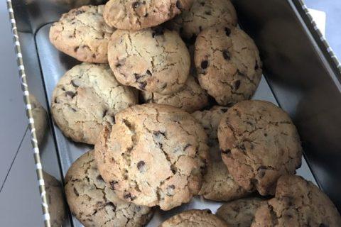 Cookies américains Thermomix par Zivlyne