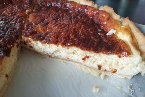 Tarte au fromage au Thermomix