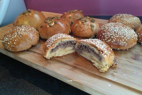 Petits pains farcis au boeuf Thermomix par Sophinette68