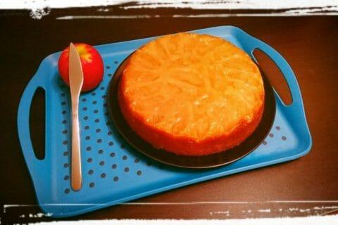 Gâteau renversé aux pommes caramélisées au Thermomix