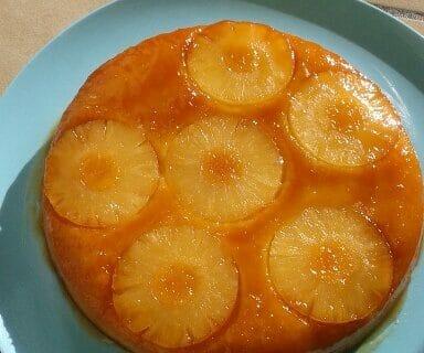 Gâteau renversé à l'ananas Thermomix par Dolce