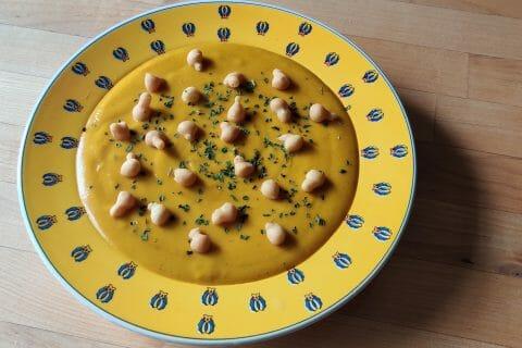 Velouté carottes et pommes, au lait de coco au Thermomix