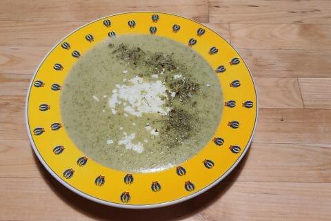 Velouté de brocoli et feta au Thermomix
