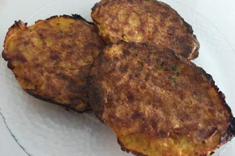 Galettes de pommes de terre au four au Thermomix