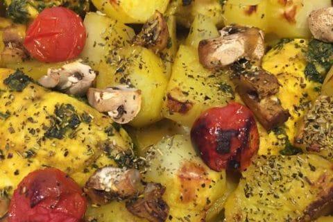 Poulet rôti à la Marocaine Thermomix par lolotche
