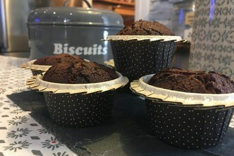 Mini muffins au chocolat Thermomix par Mokaroyal